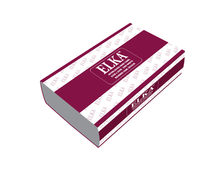 Elka 2 Ply Executive Ultra Interleaved Paper Hand Towel Carton Of 2400