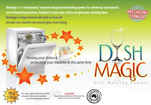 Machine Dishwashing Detergent DISHMAGIC Powder