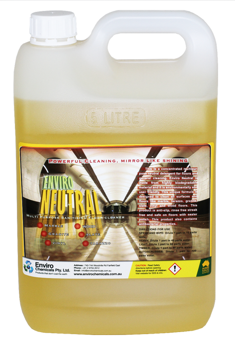 ENVIRO NEUTRAL - Safe on All Floors, Mutipurpose Cleaner