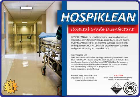 HOSPIKLEAN – Hospital Grade Disinfectant