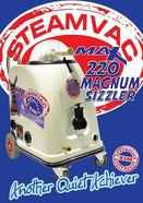 STEAMVAC MAX 220 SIZZLER+ 15M Hoses, Wand Upholstery Tool