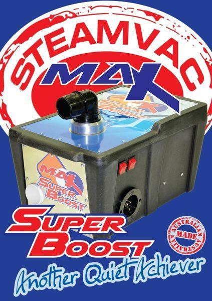 STEAMVAC MAX SUPER BOOST