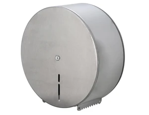Elka Stainless Steel Jumbo Toilet Roll Dispenser