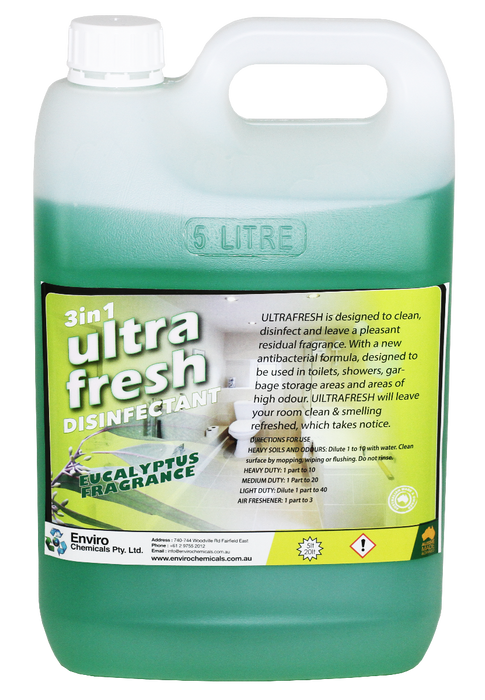 ULTRAFRESH EUCALYPTUS  (DISINFECTANT & DEODORANT)