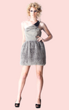 Shiloh One Shoulder Dress - Grey