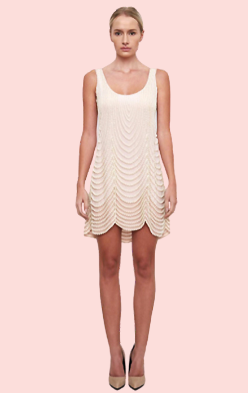 Moss Pearl Dress - Blush