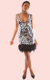 Specchia Mirror Dress - Black