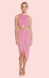 Alize Cutout Dress - Pink