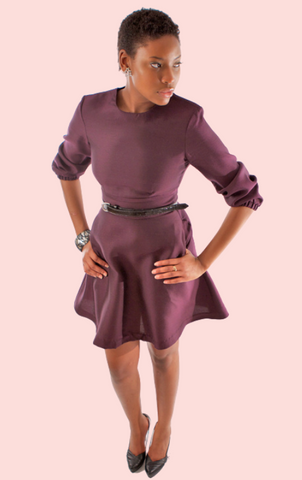 Tyson Dress - Lavender