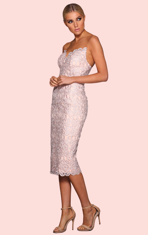 Darla Lace Dress - Blossom