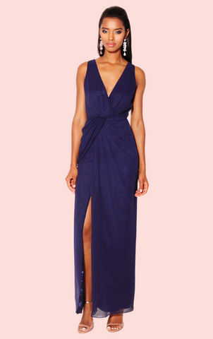Infedelity Dress - Navy