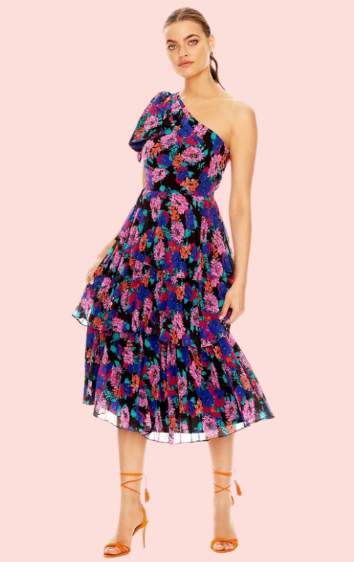 Sweet Talk Midi Dress - Floral Print