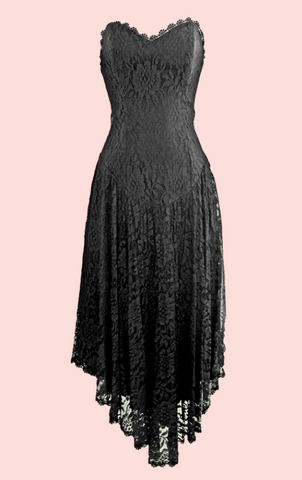Davidson Halter Dress - Black