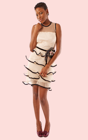 Specchia Mirror Dress - White
