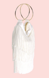 Margot Fringe Bag - Ivory