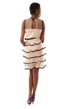 Tiered Sleevless Dress - Blush