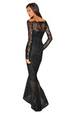 Marchesa Lace Dress - Black
