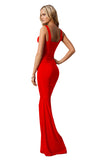Gabriella Maxi Dress - Red