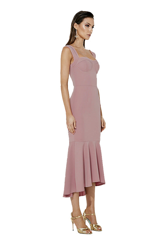A Touch Of Romance Dress - Pink
