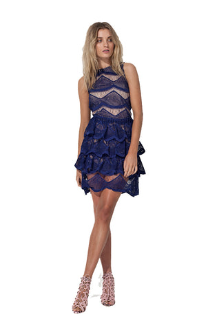 Genevieve Dress - Blue