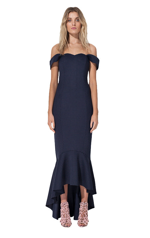 Lovers Rock Dress - Navy