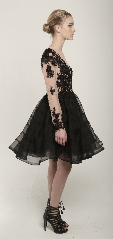 Jellyfish Dress - Black