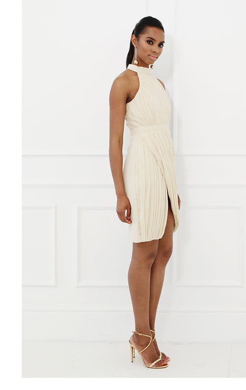 Soho Halter Dress - Ivory