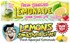 Lemonade Banner Set (3 x 10 foot) FREE SHIPPING!