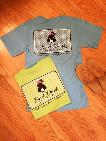 Bad Duck Diva short sleeve t-shirt.