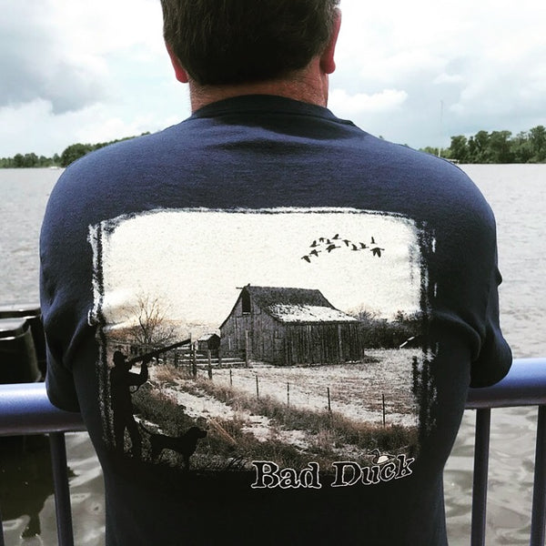 Rustic Barn Long Sleeve T-Shirt