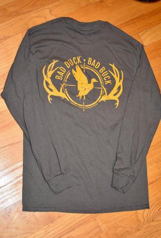 Bad Duck Bad Buck Long Sleeve T-Shirt
