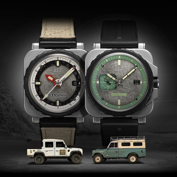 The REC RNR Collection – Land Rover Distilled