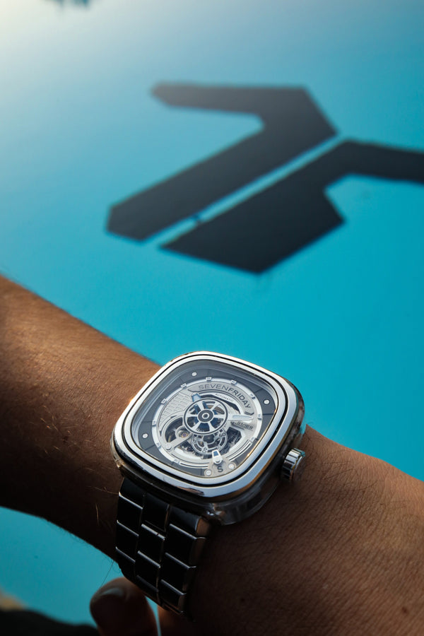 SevenFriday S1/01M Now in Stainless Steel Bracelet