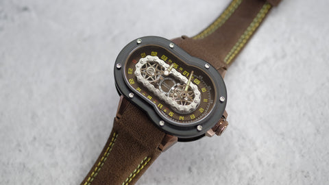 AZIMUTH Crazy Rider Brown PVD