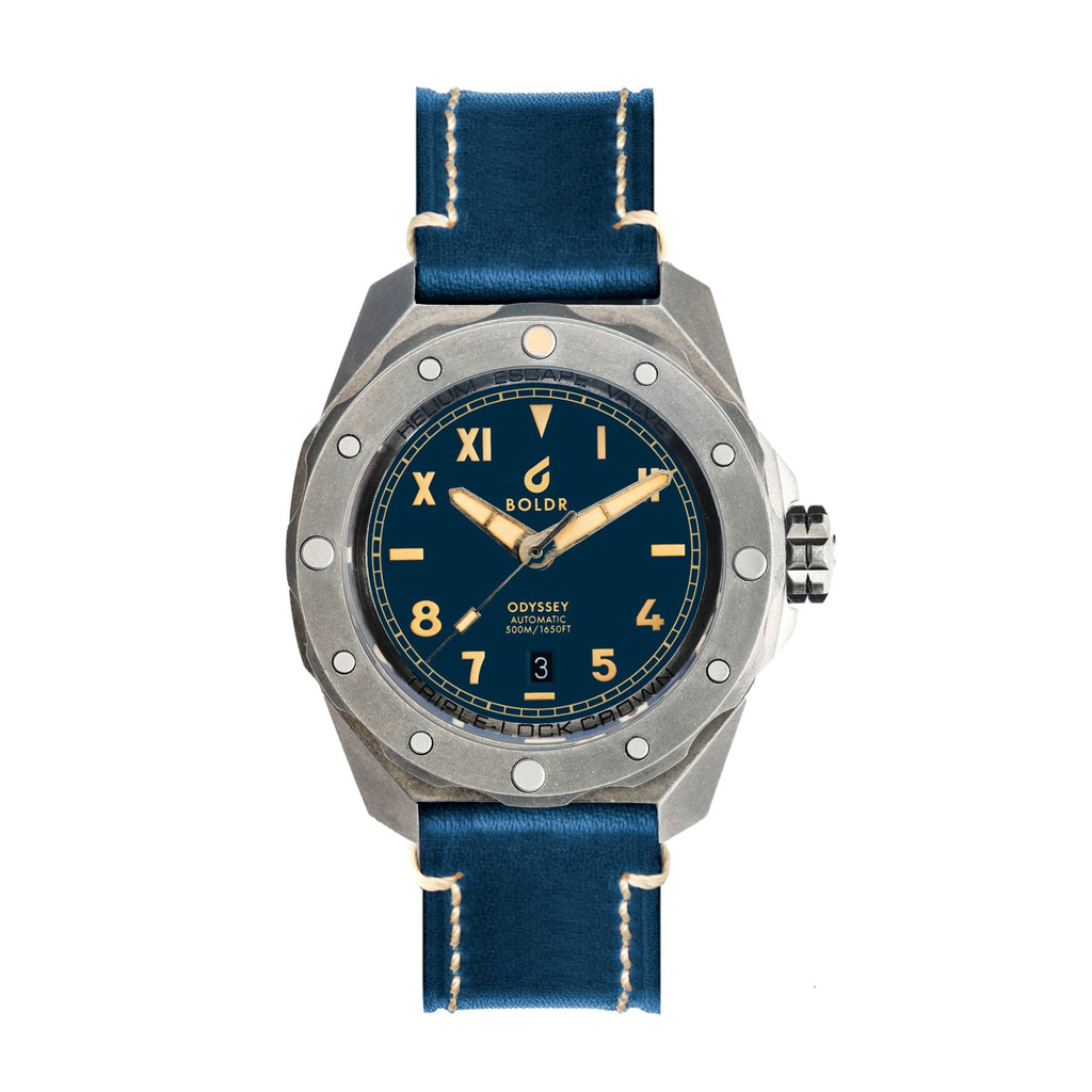 BOLDR Odyssey Cali Navy - Red Army Watches Malaysia