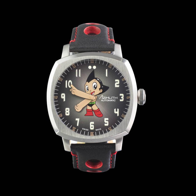 AZIMUTH GO ASTRO BOY GO! V2 - Red Army Watches Malaysia