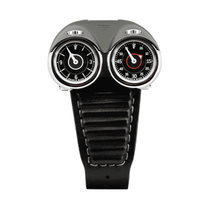 AZIMUTH Twin Turbo Grey - Red Army Watches Malaysia