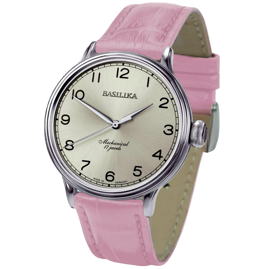 BASILIKA Elegance 2409.1230112 Beige - Red Army Watches Malaysia