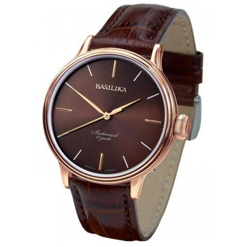 BASILIKA Elegance 2409.1230624 Brown - Red Army Watches Malaysia