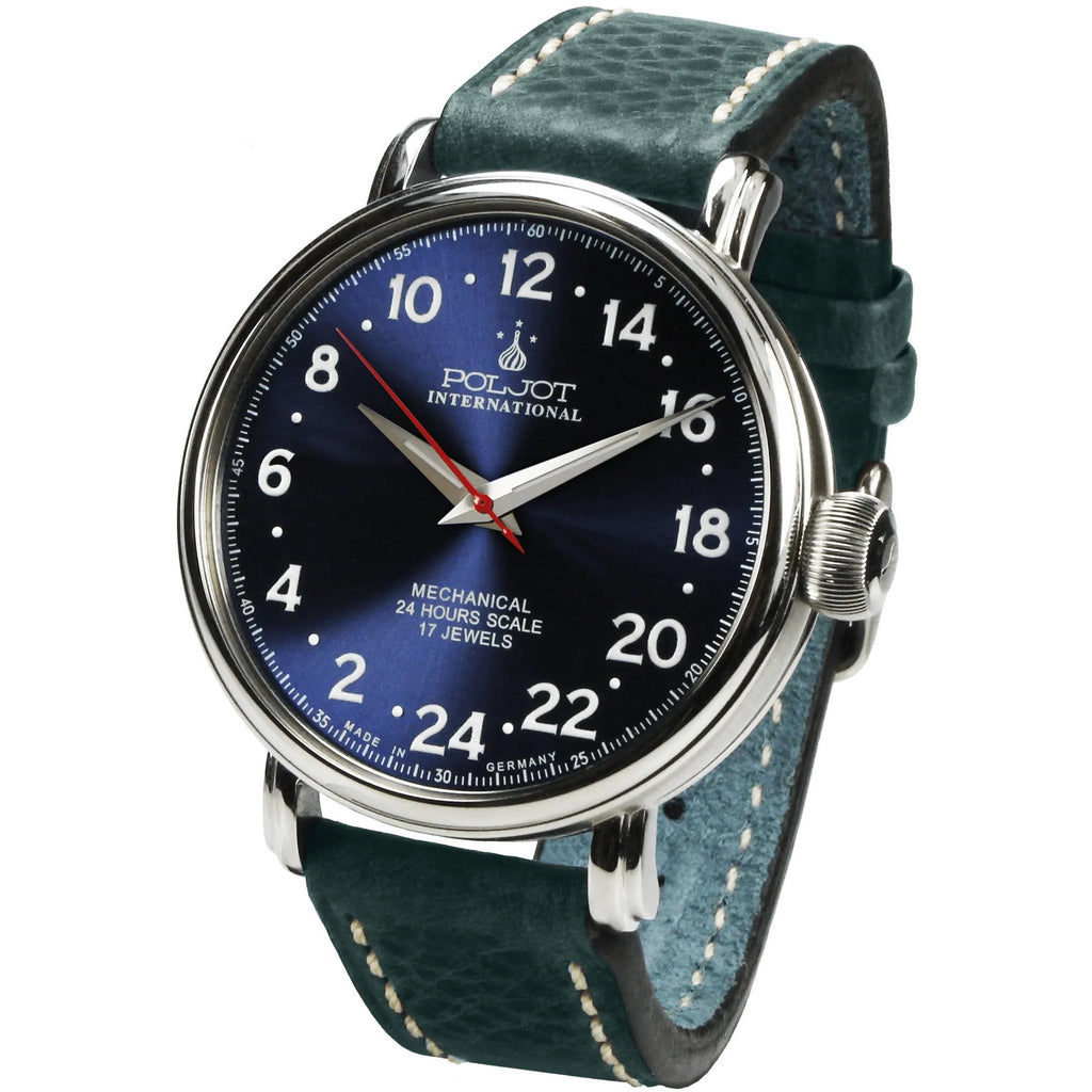 POLJOT INTERNATIONAL Polar Bear 2423.1940314 Blue - Red Army Watches Malaysia