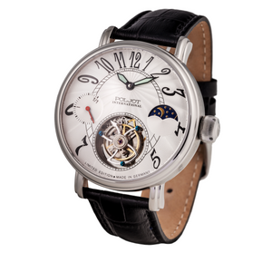 POLJOT INTERNATIONAL Tourbillon 3340.T14 White - Red Army Watches Malaysia