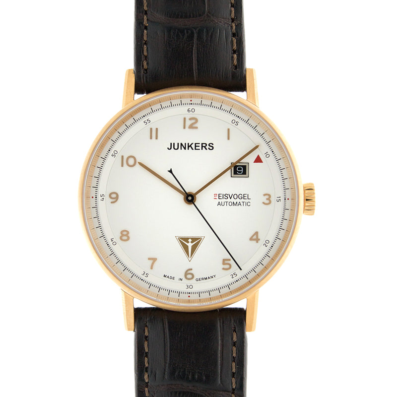 JUNKERS 6756-4 EISVOGEL F13 ROSE GOLD - Red Army Watches Malaysia