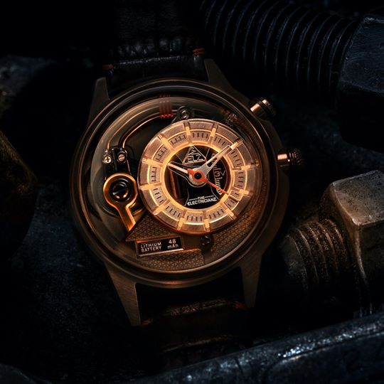 The ELECTRICIANZ SopranoZ - Red Army Watches Malaysia