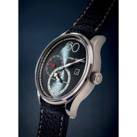 ALEXANDER SHOROKHOFF Regulator R01 Blue-Grey - Red Army Watches Malaysia