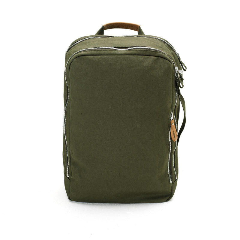 QWSTION Backpack Forest Green - Red Army Watches Malaysia