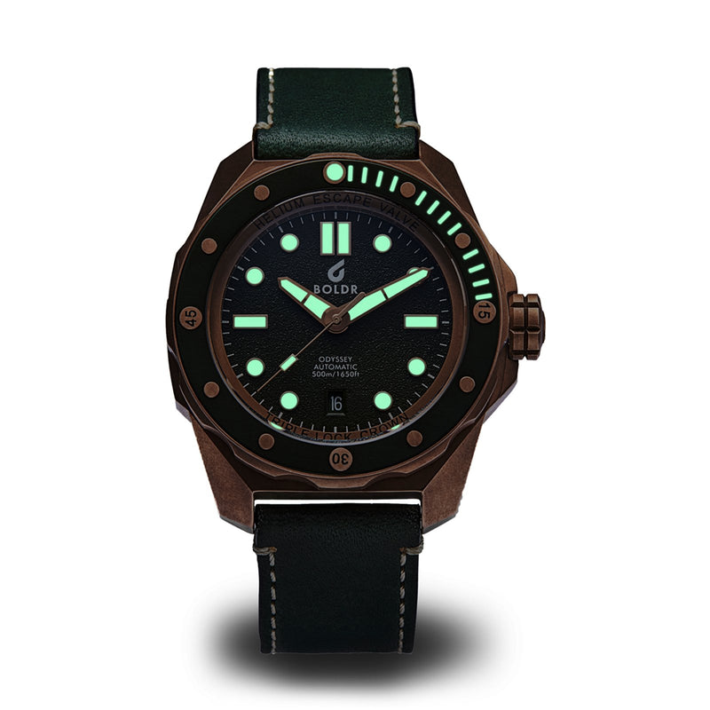 BOLDR Odyssey Bronze Serpentine - Red Army Watches Malaysia