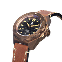 BOLDR Odyssey Bronze MeteoBlack - Red Army Watches Malaysia