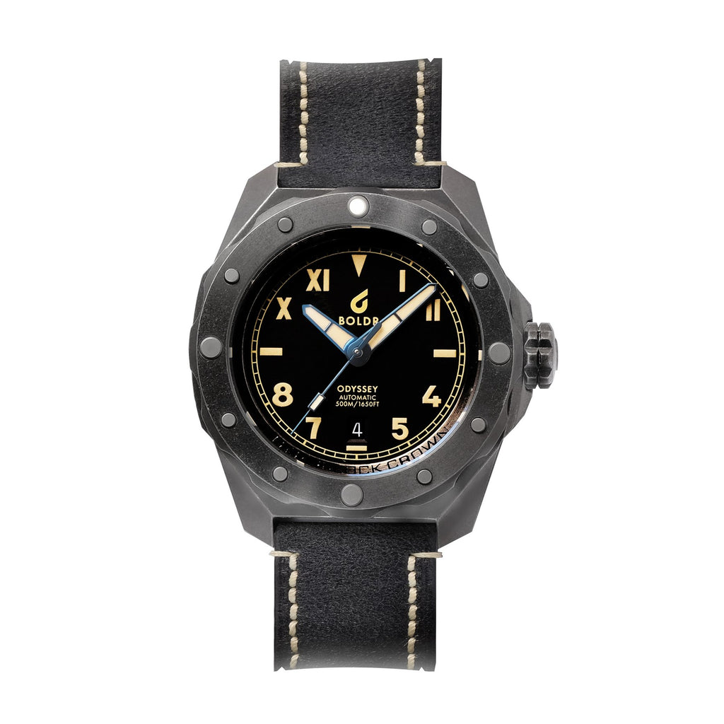 BOLDR Odyssey Cali Black - Red Army Watches Malaysia