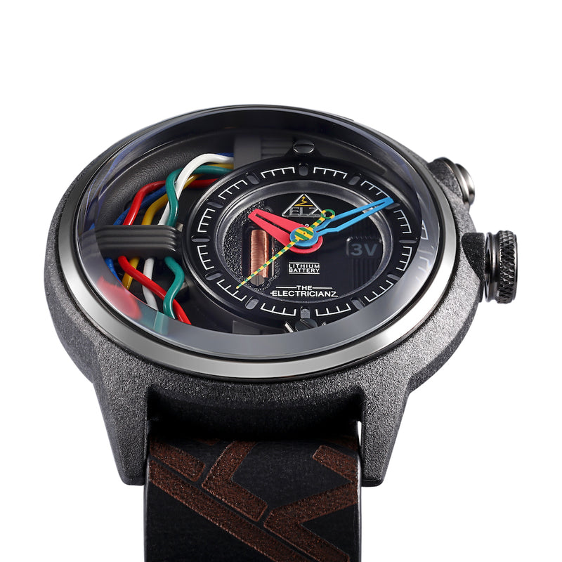 The ELECTRICIANZ Carbon Z - Red Army Watches Malaysia