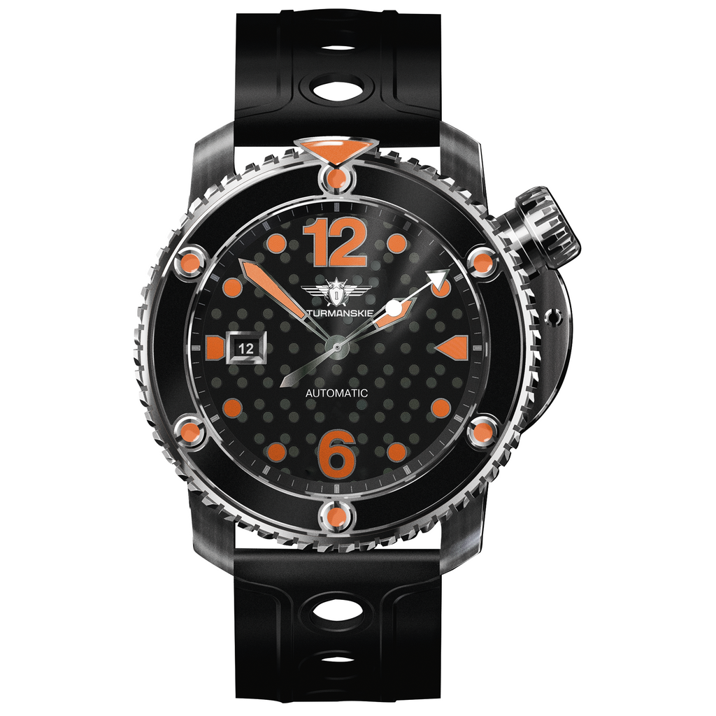 STURMANSKIE Stingray Orange NH35/1825894 - Red Army Watches Malaysia